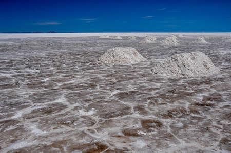 salar de uyuni: Wonderful Salar de Uyuni, Bolivia. Stock Photo