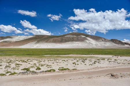 excitation: Beautiful, Landscape of Bolivia. Stock Photo