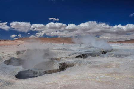 lipez: Geysers Sol Manana, Sur Lipez, South Bolivia.