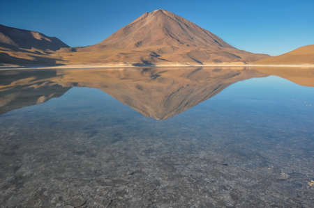 roadless: Volcan Licancabur with Gorgeous landscapes of Sur Lipez, South Bolivia.
