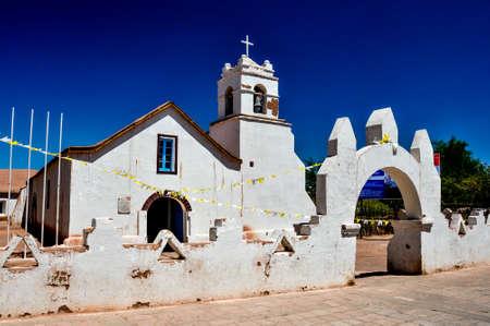 san pedro: Church of San Pedro de Atacama, Chile.