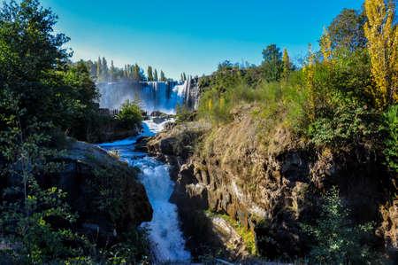 Salto del Lajas, Highway 5, Chile. 版權商用圖片 - 31553465