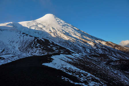 excitation: Osorno Volcano near the top, Chile.