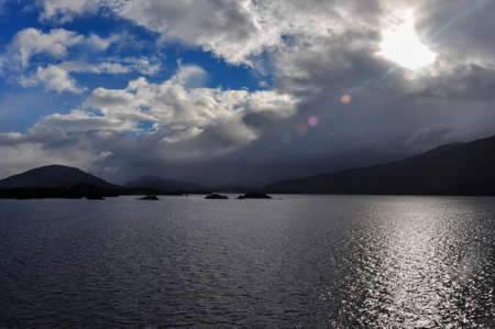 fjords: Crossing fjords in Southern Chile.