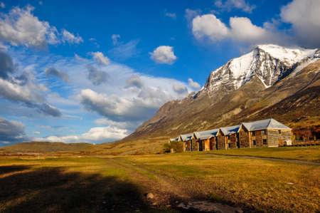 paine: Parque Nacional Torres del Paine, Chile.