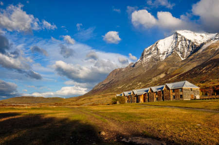 pain�: Parque Nacional Torres del Paine, Cile.