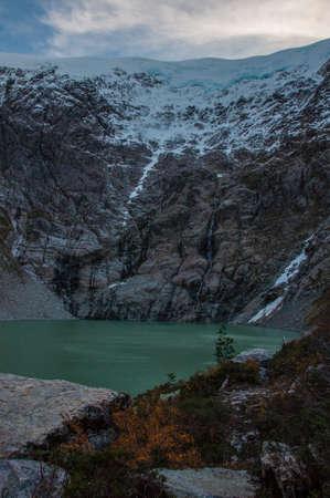 ruta: Parque Nacional of Queulat, Carretera Austral, Highway 7, Chile.