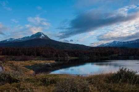 tierra del fuego: Landscapes of Tierra del Fuego, South Argentina.