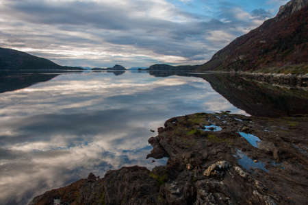 fuego: Landscapes of Tierra del Fuego, South Argentina.