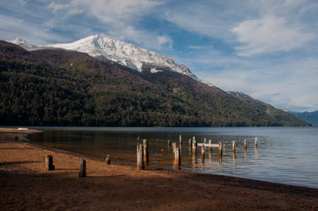 Seven lakes road in Villa la Angostura, Argentina. photo
