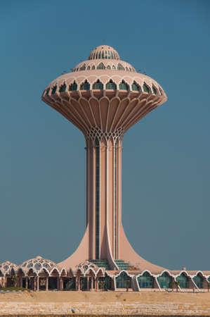 arabia: Al Khobar Tower, Al Khobar, Saudi Arabia. Stock Photo