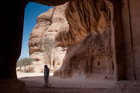 ���archeological site���: Madain Saleh Archeological Site in Saudi Arabia.