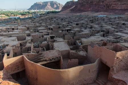 Overlooking the old city of Al Ula, Saudi Arabia.
