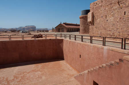 large formation: Water Tank used by Arabic people, Saudi Arabia.