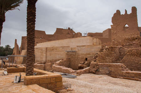 ad: Old At-Turaif district near Ad Diriyah, Saudi Arabia.