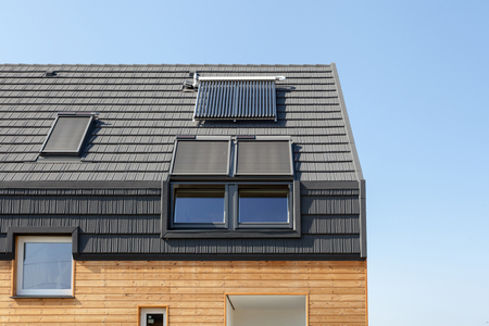 Energiebesparende concepten in nieuwbouw energie-efficiëntie dakontwerp