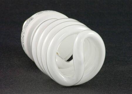 Energy saving spiral light bulb.