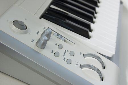 音楽キーボード コント ローラーのセクション。 写真素材