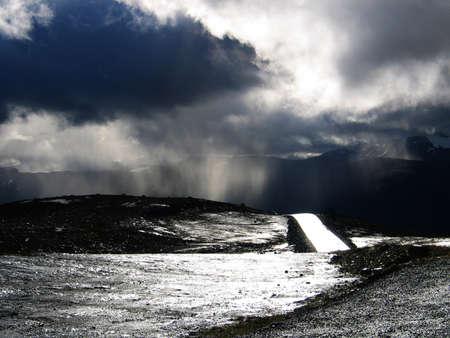 dramatic road look