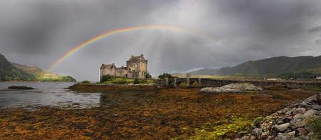 Eilean Donnan Castle Stock Photo