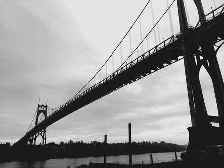 portland: St. Johns Bridge in Portland OR