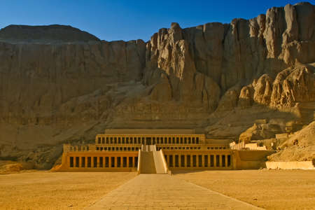 Mortuary temple of the Queen Hatshepsut, Western Bank of the Nile, Egypt