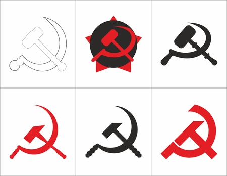 hammer and sickle of the Soviet Union