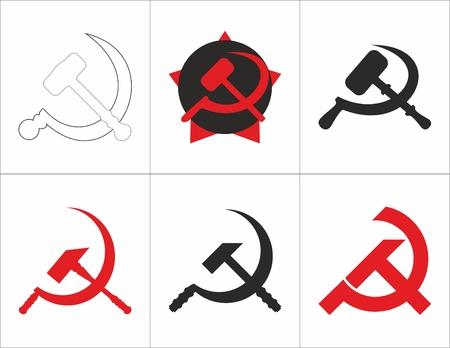Hammer und Sichel der Sowjetunion