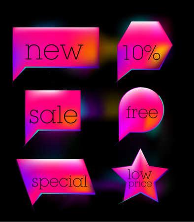 pink sale tag