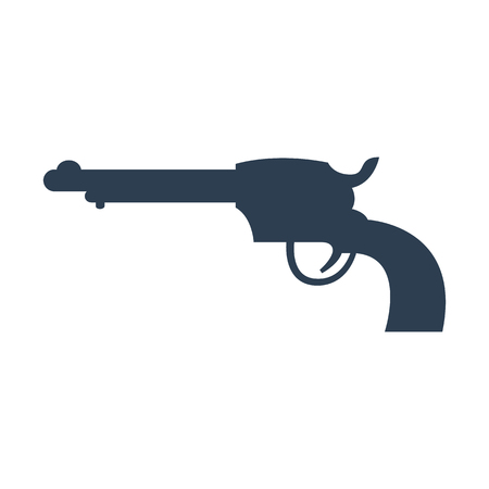 Gun icon illustration. Illustration