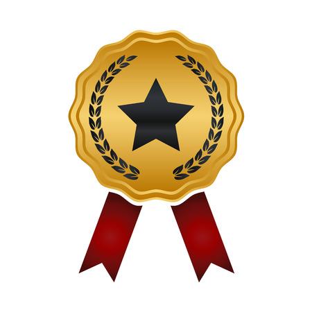 Award medal medal badge Illustration