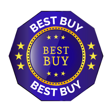 best buy badge on white background. Vector illustration
