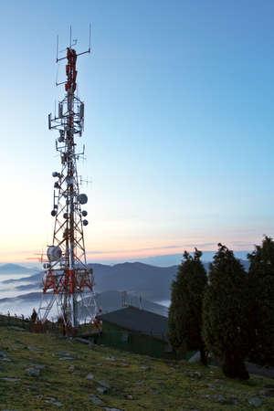 airwaves: Communications tower