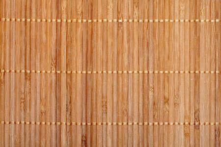 Bamboo mat background photo