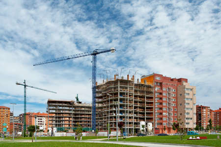 pulleys: Construcci�n de edificios en la ciudad