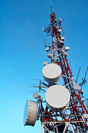 airwaves: Telecomunications antennas tower