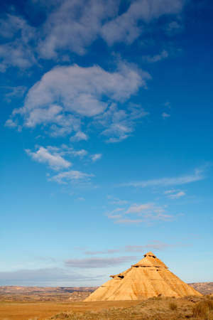 Hill over the blue sky in winter Stock Photo - 446473