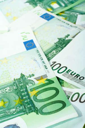 Euro money background photo