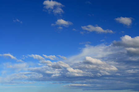 Beautiful clouds on a autumn day, just add your text Stock Photo - 585854