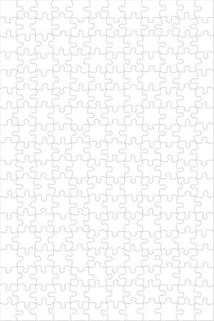 A background empty puzzle. High quality image Stock Photo