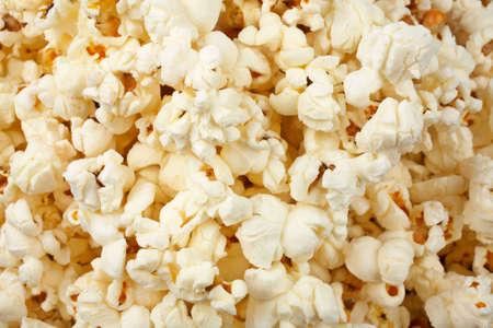 sallow: A tasty popcorn background with sallow dof Stock Photo