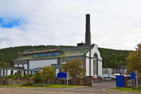 distillery: Tormore Distillery in the Whisky Trail, Advie, Scotland