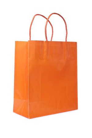 carry on bags: A shopping bag, isolated on white background