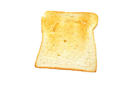 Slice of toast bread isolated on white background Stock Photo - 4321565
