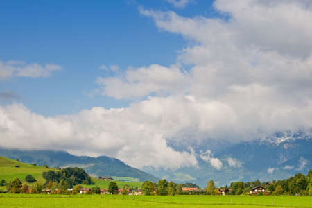 saalfelden: Saalfelden, beautiful town in Zell am See, Salzburg, Austria