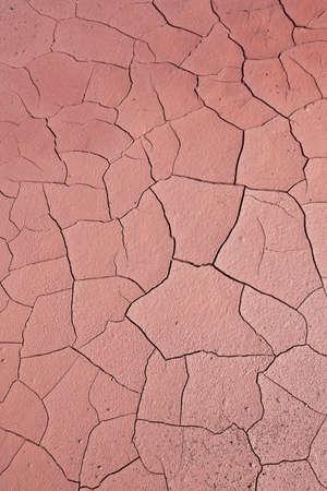 encogimiento: Close up de suelo agrietado. Concepto de calentamiento global  Foto de archivo