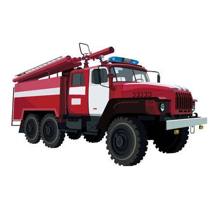 incendiary: fire-engine vehicle