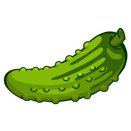 pickled: cucumber Illustration