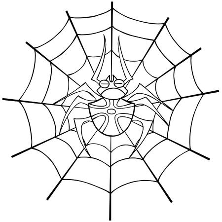 spider web: spider web tattoo outline