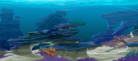 topography: underwater topography